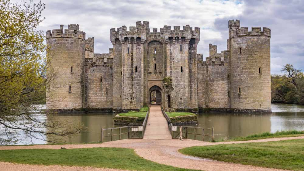 Bodiam Castle, Inglaterra