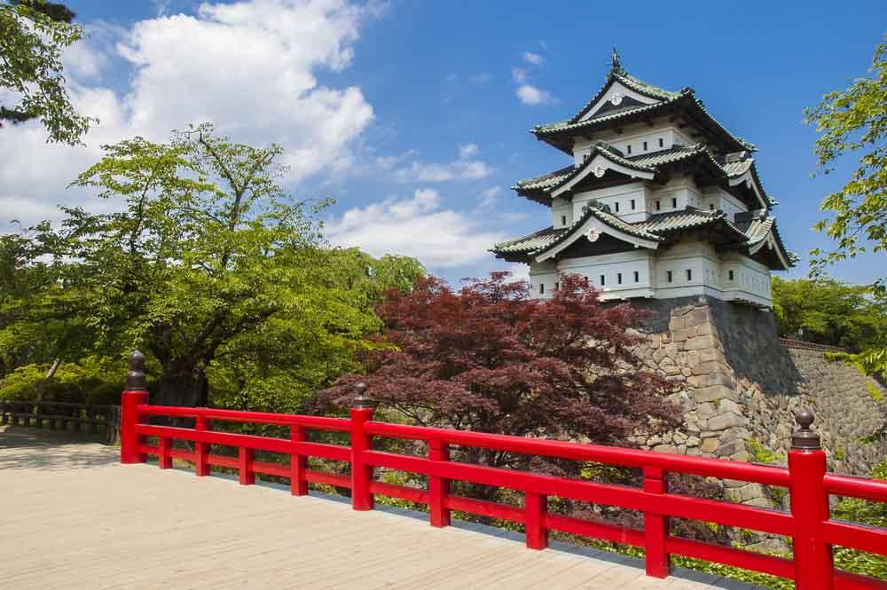 Castelo de Hirosaki, Japão