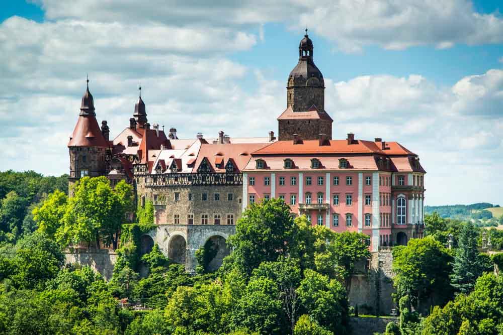 Castelo de Ksiaz, Polónia