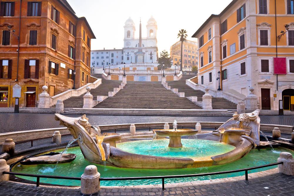 Escadarias da Praça da Espanha, Roma