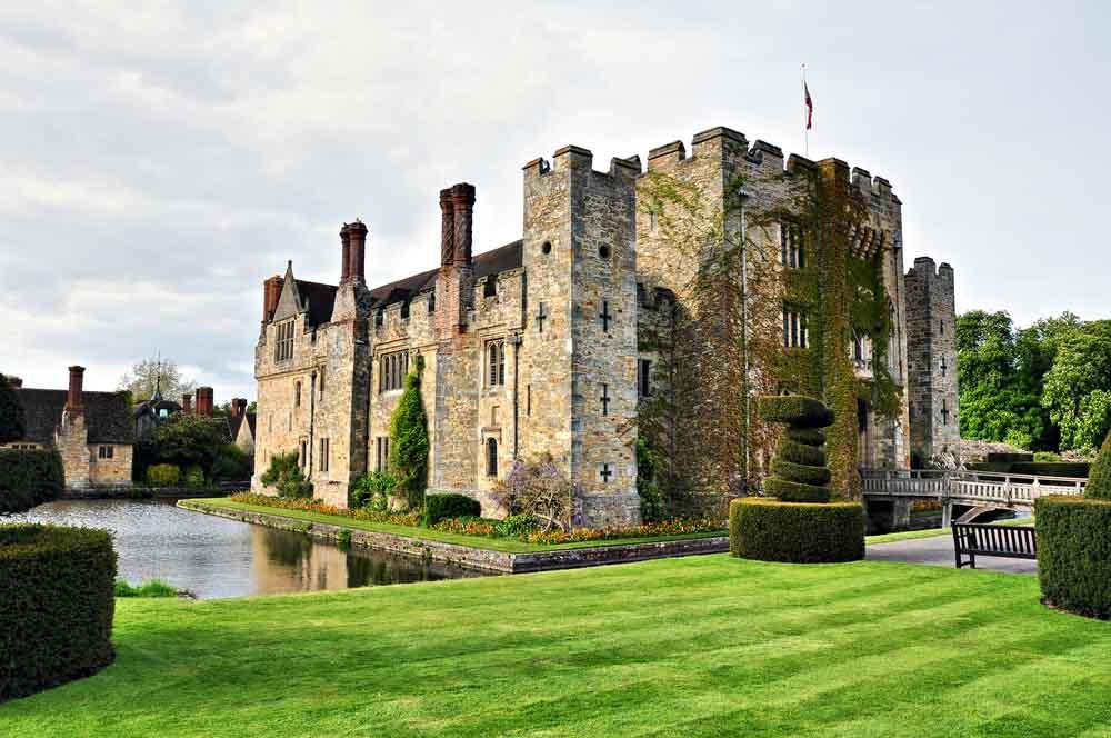 Hever Castle, Inglaterra