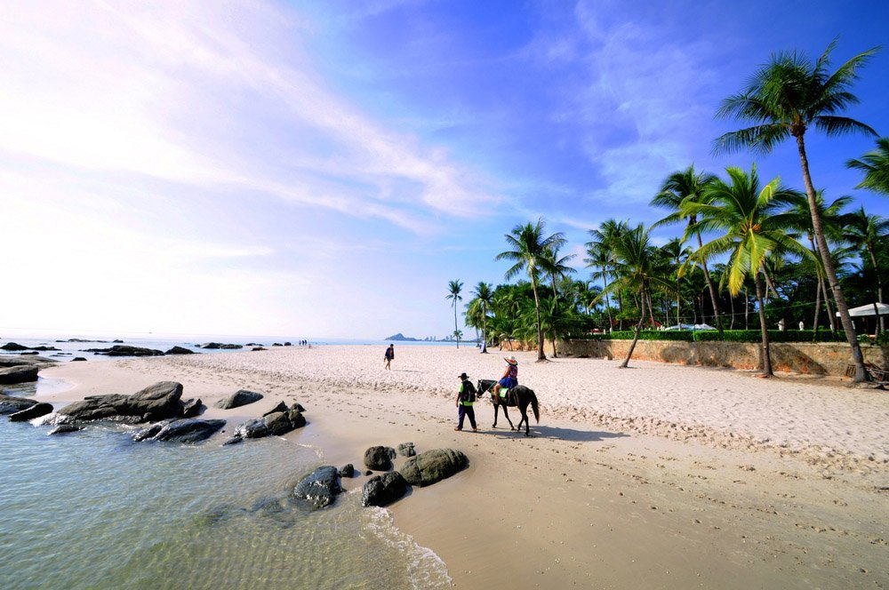 Hua Hin Beach, Tailândia