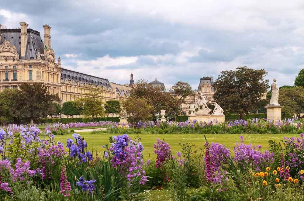 Jardim das Tuileries de Paris