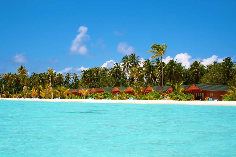 Meeru Island, North Atoll, Maldivas