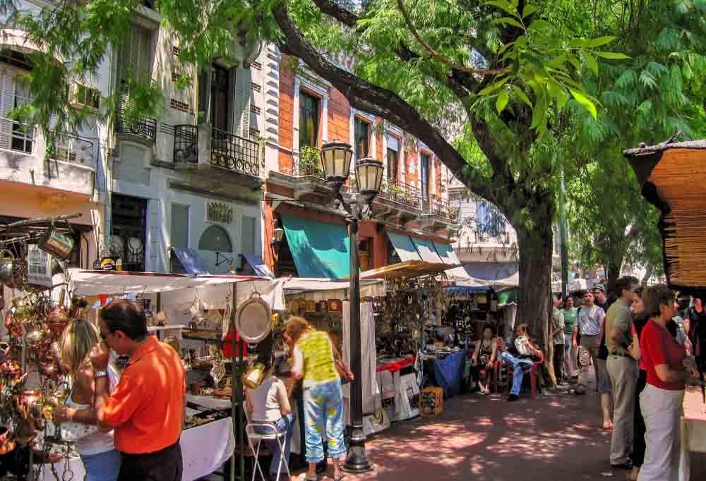 Mercado San Telmo em Buenos Aires