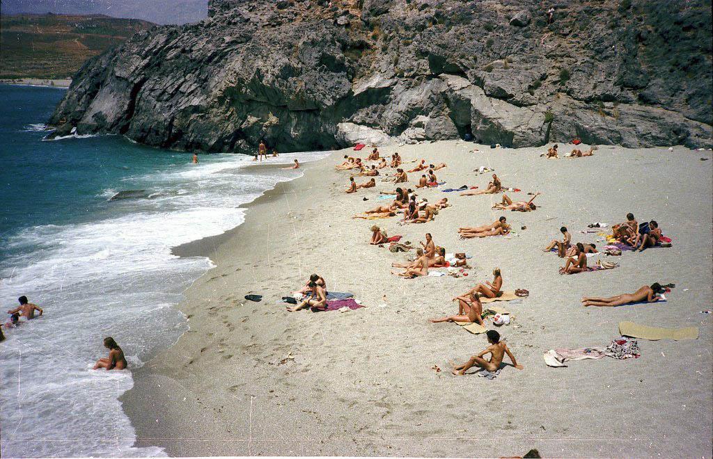 Micro Amoudi Beach, Grécia