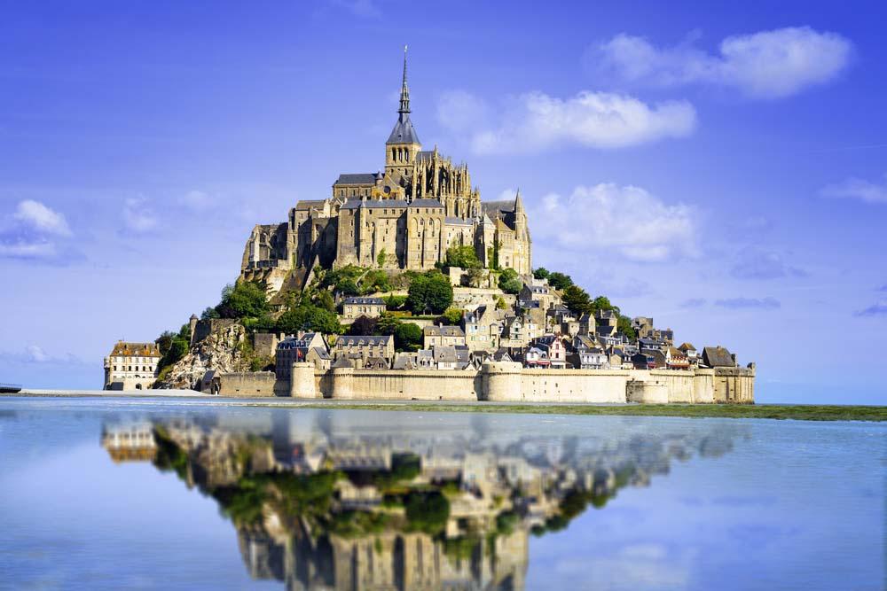 Mont Saint Michel, França