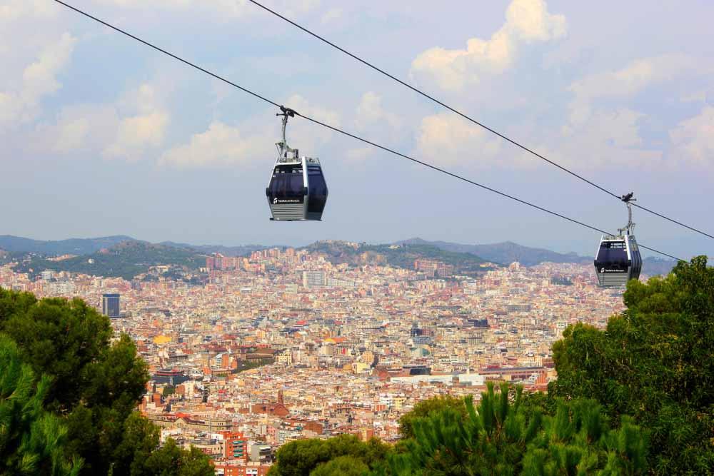Montanha Montjuïc Barcelona