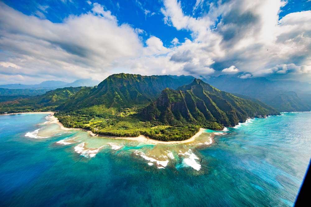 Na Pali Coast, Kauai, Havaí