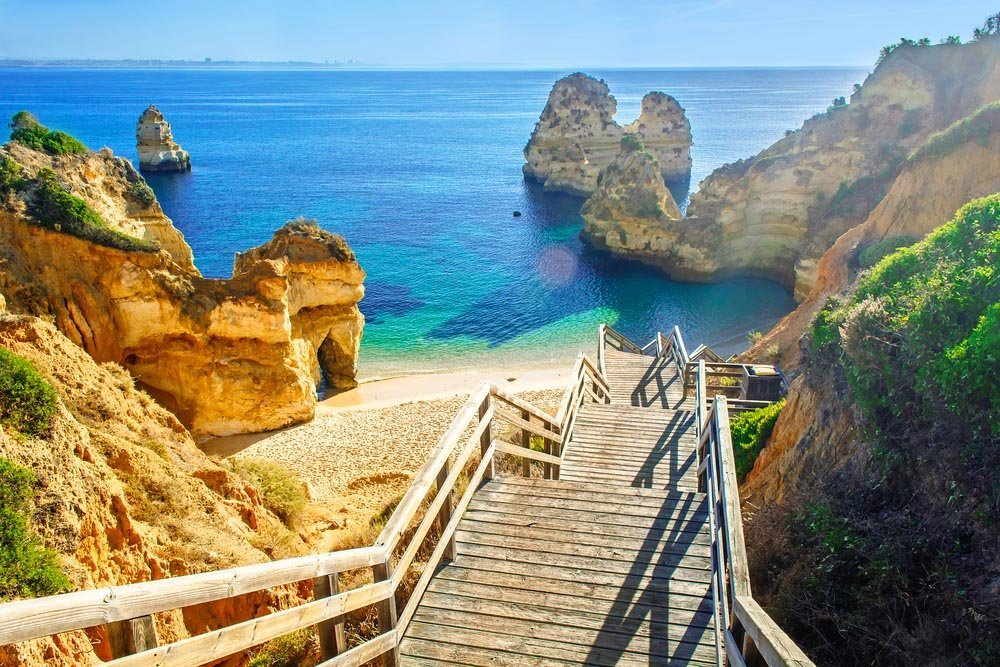 PRAIA DO CAMILO, PORTUGAL