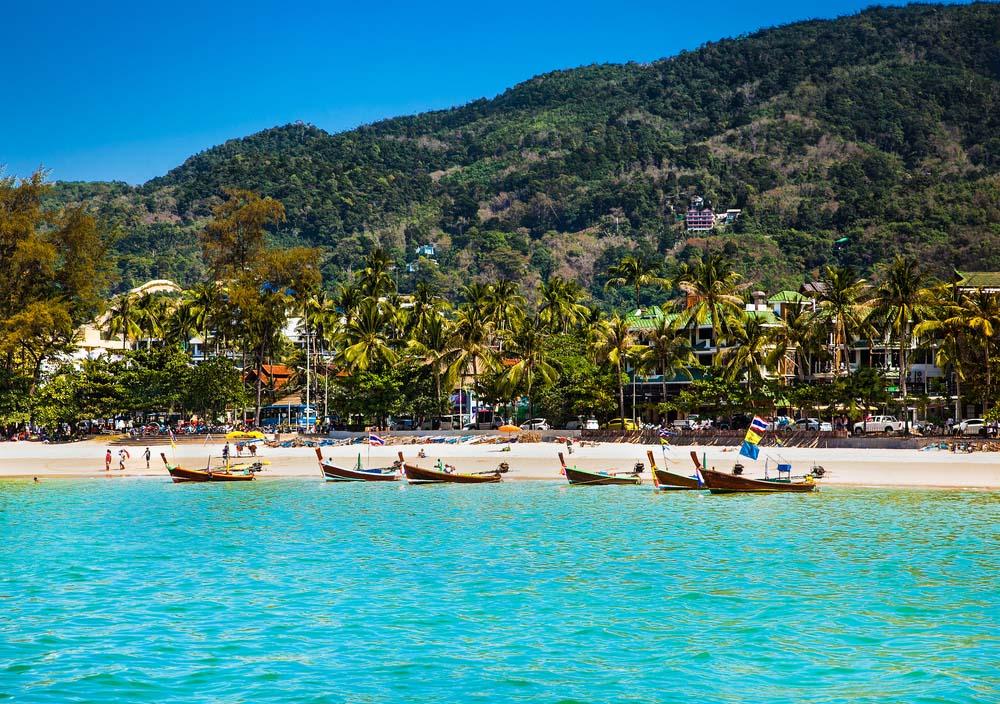 Patong Beach, Tailândia