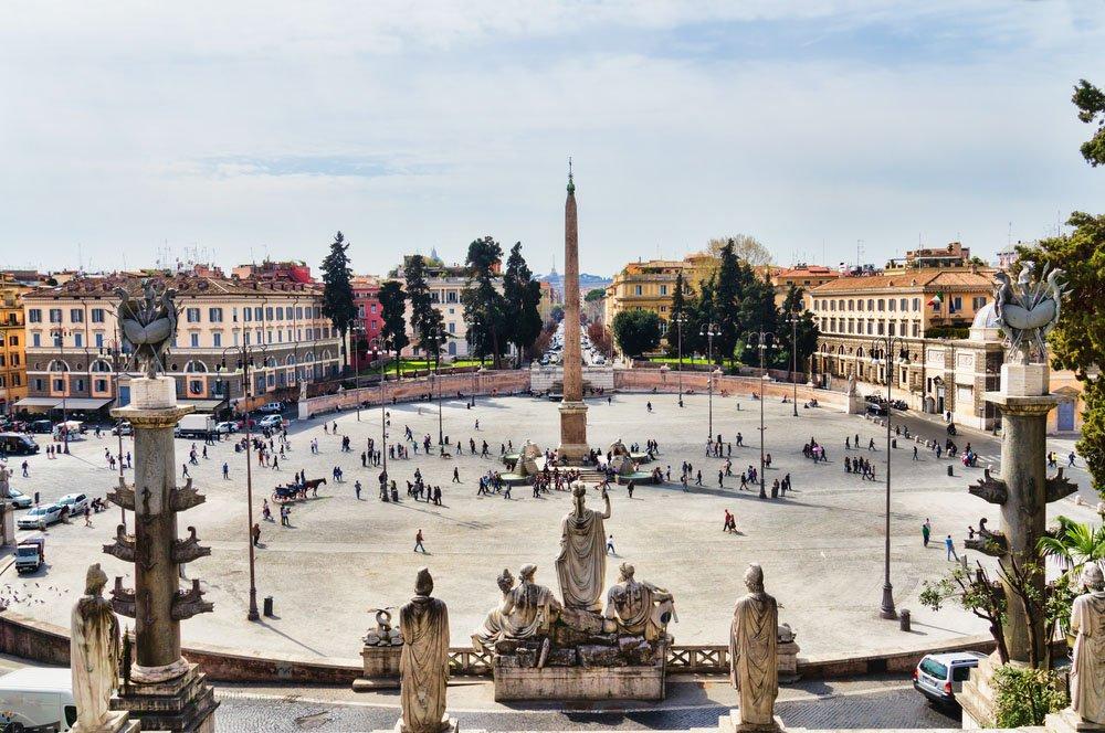 Piazza del Popolo , Roma