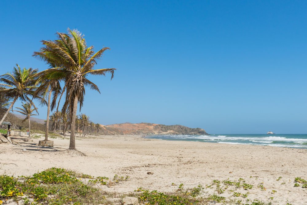 Playa El Agua, Margarita Island (Venezuela)