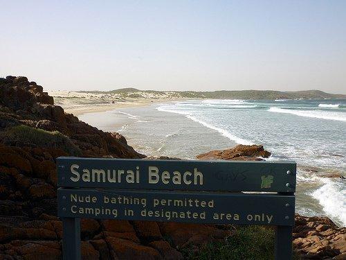 Samurai Beach, Austrália