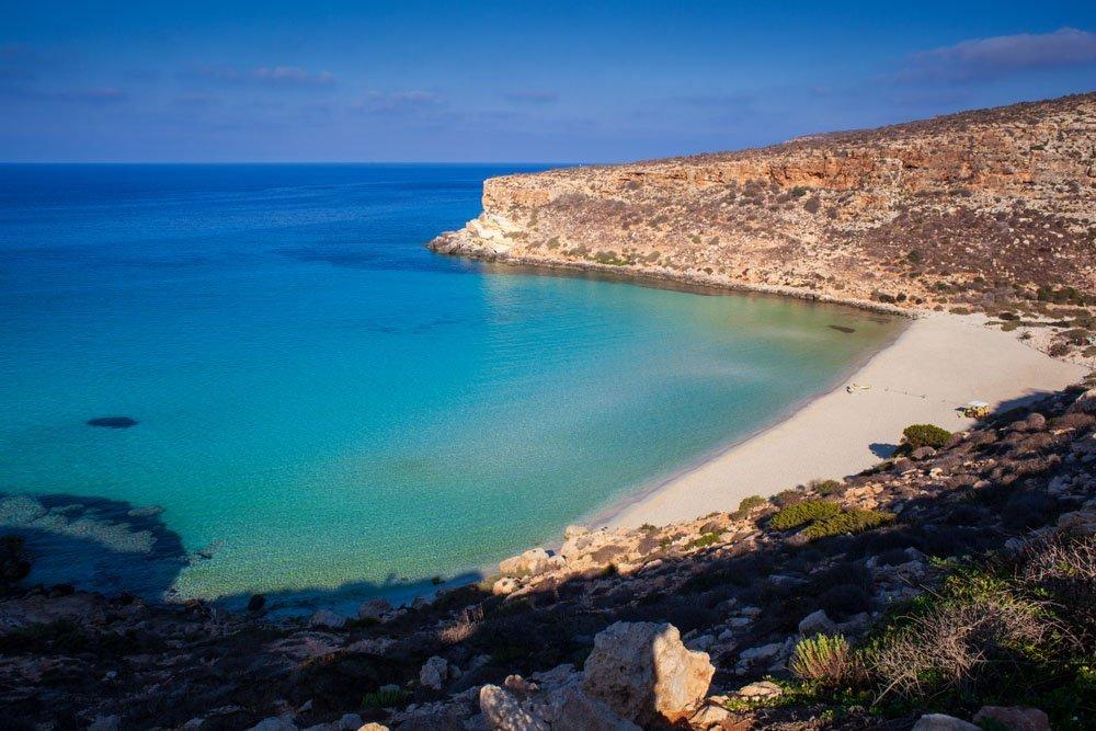 Spiaggia dei Conigli, Lampedusa, Sicília
