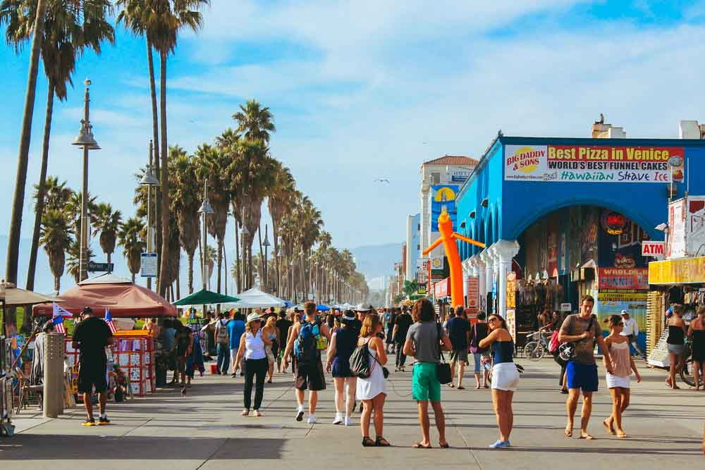 Venice Boardwalk, Los Angeles