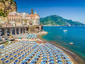 melhores praias da Itália