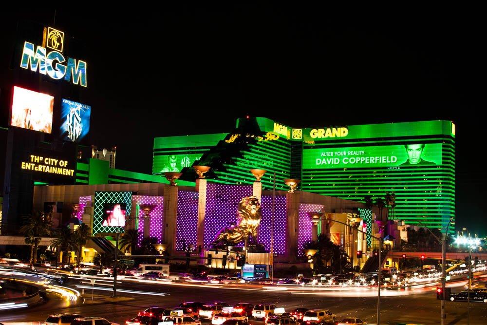 MGM Grand Hotel e CSI- A Experiência