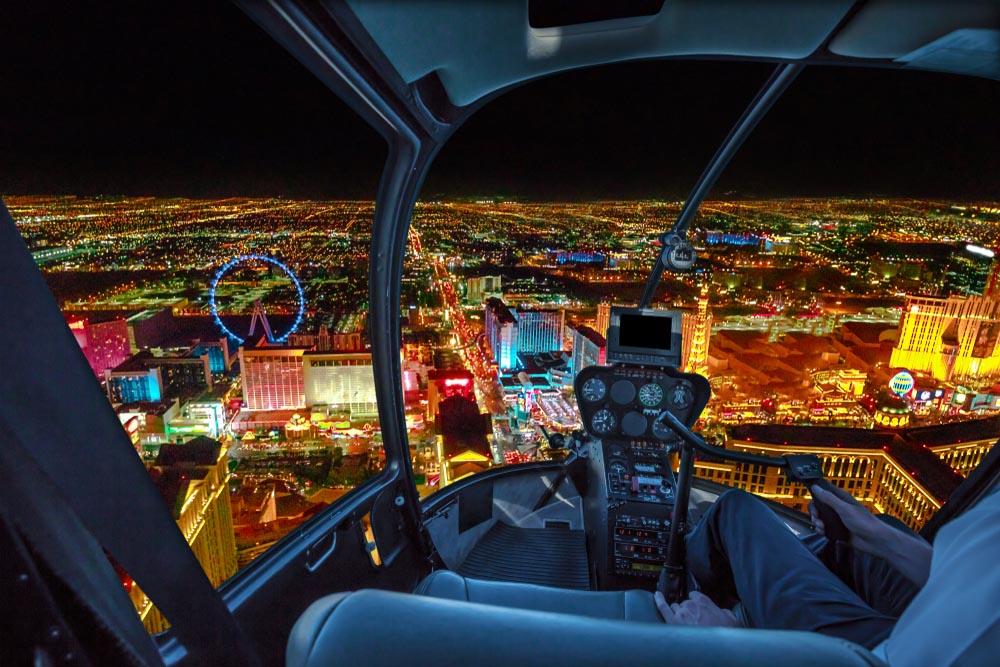 Passeios de Helicóptero sobre Las Vegas e o Grand Canyon