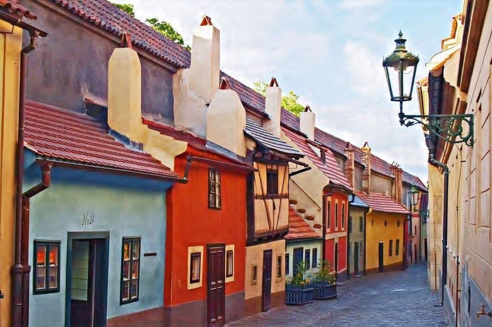 Golden Lane (Rua de Ouro), Praga