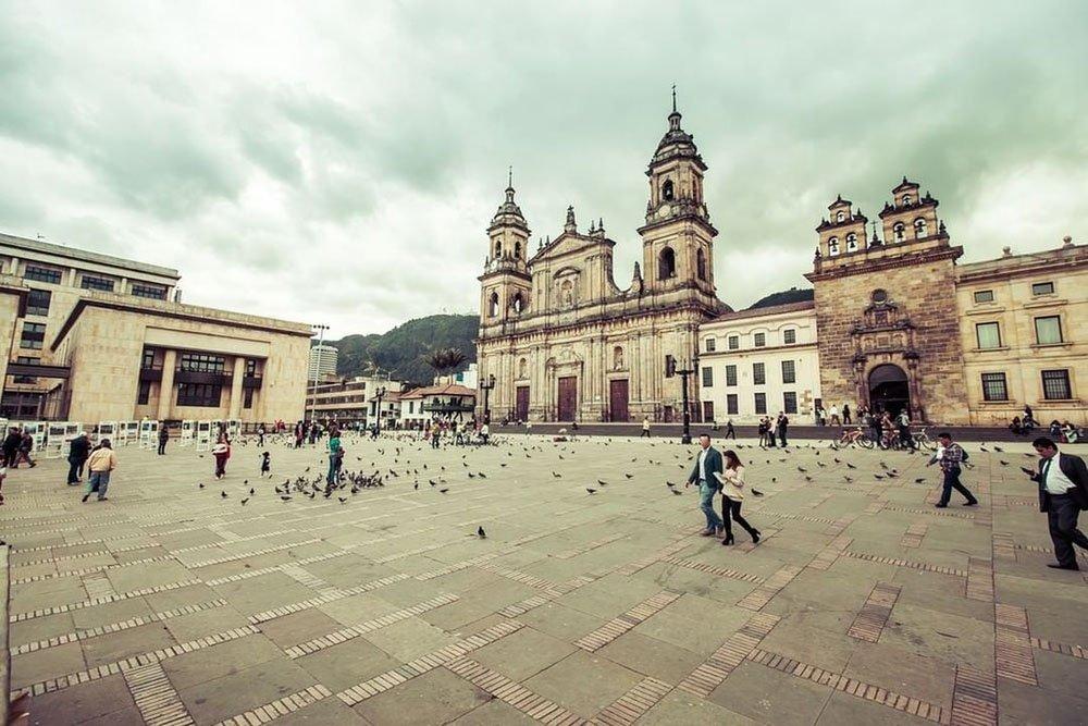 Praça de Bolívar de Bogotá
