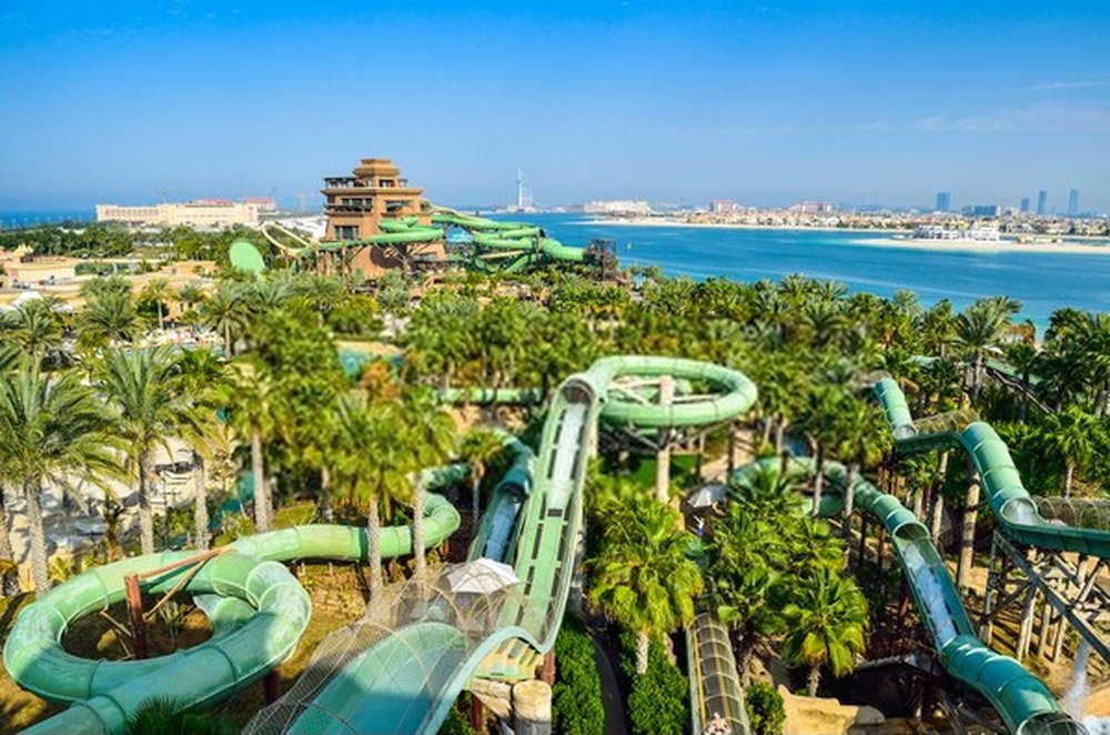 Aquaventure Waterpark (Dubai, EAU)
