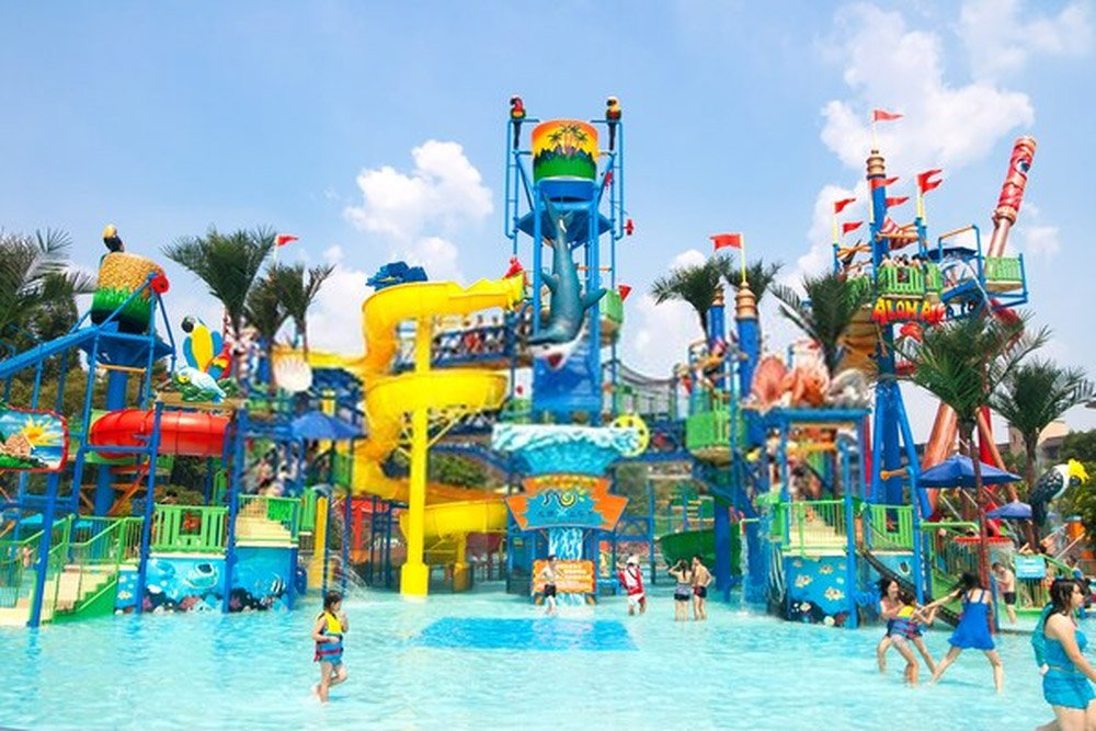 Chime-Long Water Park (Guangzhou, China)