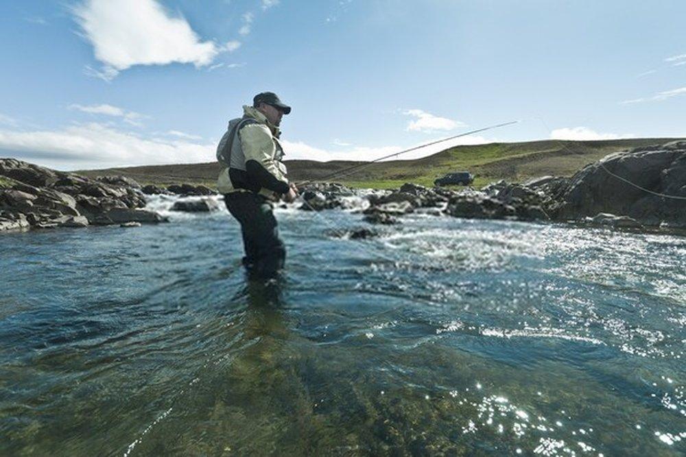 Vá pescar Islândia