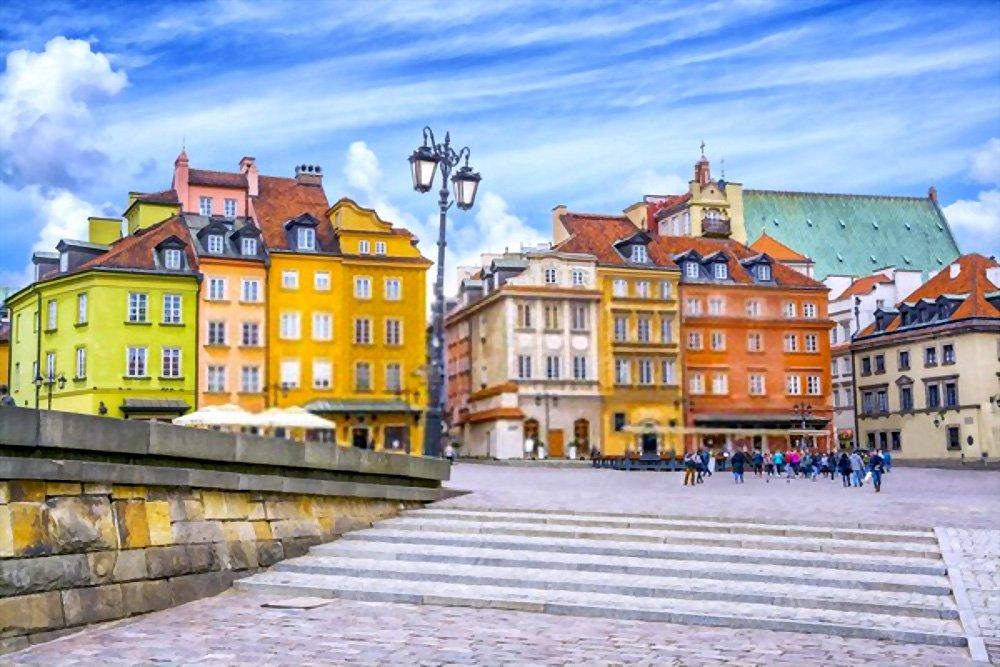 Old Town Market Place, Varsóvia