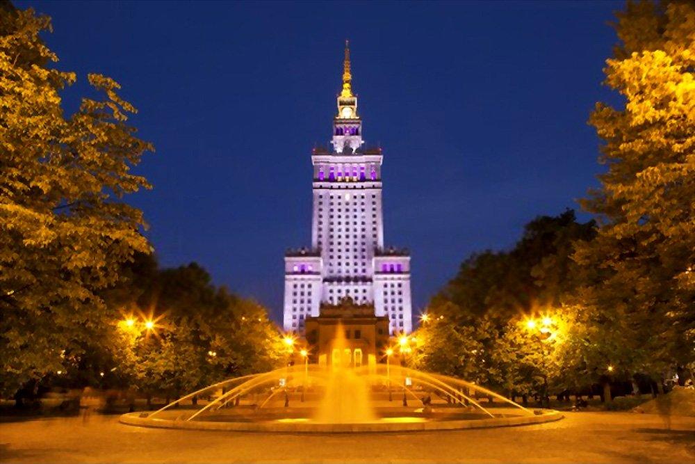 Palácio da Cultura e Ciência, Varsóvia