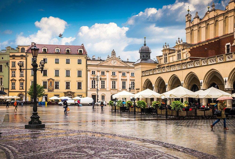 Stare Miasto (Cidade Velha) Cracóvia (Polónia)