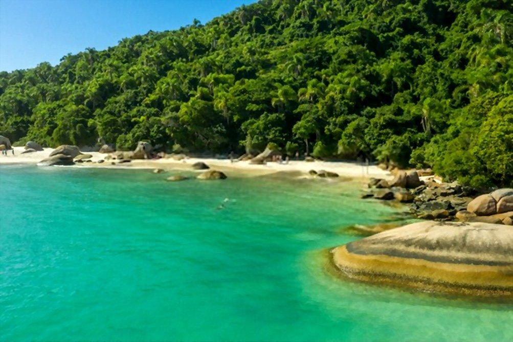 Praia do Campeche, Florianópolis, Santa Catarina