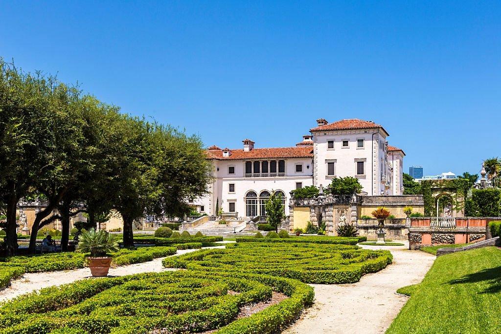 Passeio pelo Museu e Jardins de Vizcaya